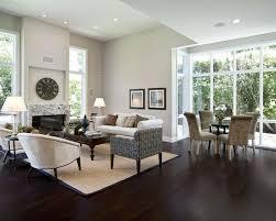 Interesting Dark Brown Hardwood Floors Living Room S With Modern Design