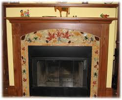 Decorative Tiles For Fireplace Modest Ideas Fireplace Ceramic Tile Innovation Inspiration 32