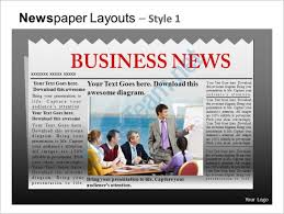 Office Newspaper Template Powerpoint Newspaper Template 21 Free Ppt Pptx Potx Documents