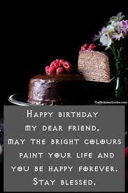 Birthday Quotes For Friend Adorable Top 48 Happy Birthday Wishes Quotes Messages For Best Friend