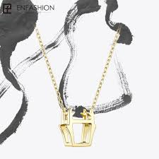 enfashion chinese zodiac dragon necklace 3d stereoscopic pendant womens necklaces jewelry colgantes mujer moda pfy183004 dragon