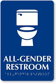 school bathroom sign. Perfect School Allgenderrestroomtoiletsignse6055_musintra  And School Bathroom Sign G