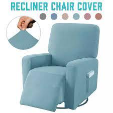 Kaymaz Recliner sandalye kılıfı koruyucu elastik her şey dahil masaj koltuğu  kapağı koltuk yumuşak sandalye kılıfı s mobilya koruyucu|Sofa Cover