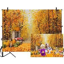 <b>Allenjoy</b> 7x5ft <b>Autumn</b> Forest Scenery <b>Photography Backdrop</b>