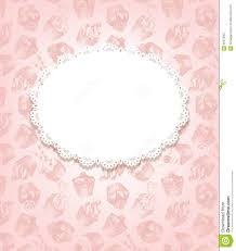 pink and white vintage background. Contemporary Background Download Retro Background With Cupcakes And Doily Stock Vector   Illustration Of Cloth Doily Pink White Vintage P