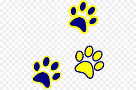 red bulldog paw clipart.  Paw Bulldog Paw Tiger Clip Art  Blue And Gold Intended Red Clipart P