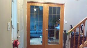 replace glass in french doors