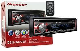 pioneer cd player deh x3700s dehx3700s siriusxm satellite pioneer deh x3700s w siriusxm sxv300v1