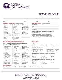 travel profile 617 720 6100