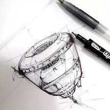 industrial design sketches. I Have Written An Illustrated Ebook For Beginners On How To Master Your Pen, And Do First Steps At Design Sketching. Industrial Sketches L