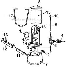 coleman 222a7101 parts list and diagram outdoor gas lamp diagram rh suehirofc com outdoor patio gas lamps exterior gas lanterns