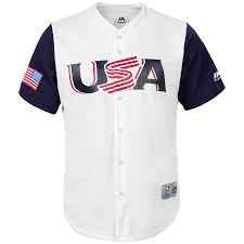 Replica Classic World Majestic Jersey Giancarlo 2017 Usa Stanton White Baseball