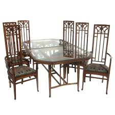 art deco dining room chairs the best of art style dining table and six chairs at art deco dining room