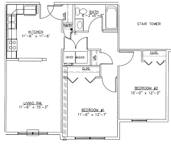 Small House Plans 2 Bedroom Awesome House Plans Two Bedroom One Bath With Muir 933x1005