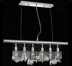 venice padua collection 6 light crystal island chandelier