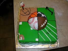 birthday cakes for boys sports.  Boys All Sports U2014 Birthday Cakes Inside For Boys Sports Pinterest