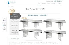 select rectangle glass table tops as per your requirement i e