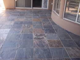 slate tile floor patio after professional cleaning seal restoration services magnificent gilbert arizona home with needs
