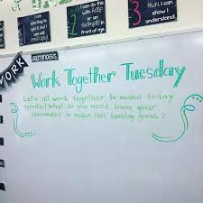 classroom whiteboard ideas. work together tuesday | miss 5th classroom whiteboard ideas o