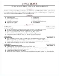 Summary For Resume Examples Job Summary For Resume Resume Summary Best Resume Summary Examples For Retail