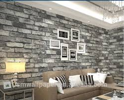 Small Picture Washable Vinyl Brick Wall Design Wallpaper For Living Room
