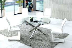 round glass dining table and 6 chairs modern round glass dining table round glass dining table