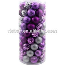 Purple Balls For Decoration Enchanting Factory Sale Potpourri Decorative Balls Purple Xmas Baubles Buy