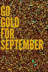 Small Picture Please Remember to Go Gold for Childhood Cancer Awareness this