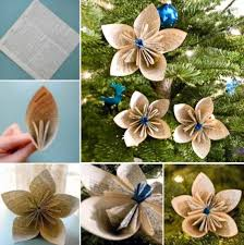 Diy Paper Flower Diy Paper Flower Ornaments Pictures Photos And Images For Facebook
