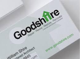Goodshire Branding Business Card By Jennifer Healy Dribbble