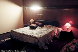 Chilling: This Is The Bedroom In Gaddafiu0027s U0027sex Dungeonu0027, Decorated In 70s