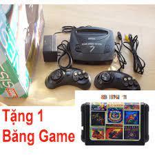 Máy chơi game 6 nút Sega 3 Tặng băng 8in 1