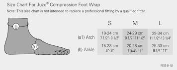 Details About Juzo Compression Foot Wrap
