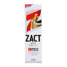 Lion <b>Zact</b> plus <b>зубная паста отбеливающая</b>, 150 г - купить, цена и ...