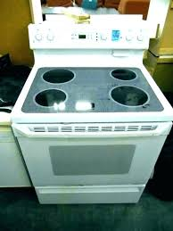 electric range top. Thermador Electric Range Oven Knob Replacement General Stove Knobs Top Profile Glass . S
