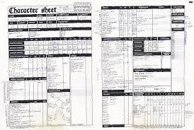 warhammer character sheet warhammer character sheets
