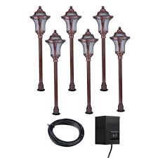 Copper Landscape Lighting Kits