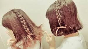 文化祭でやりたい髪型20選可愛いおそろいの髪型高校生なう