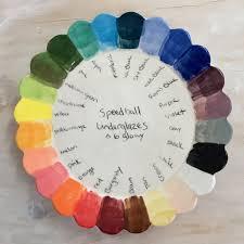Speedball Underglaze Chart Paint The Rainbow With Speedball Underglazes Glazes For