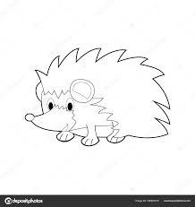 Facile Colorare Disegni Animali Bambini Piccoli Hedgehog
