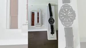 <b>Кожаный</b> коричневый <b>ремешок</b> для <b>Samsung</b> Watch 3, 22 купить в ...