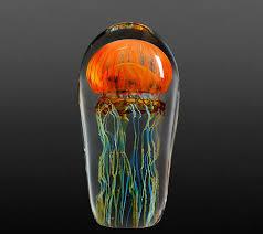 realistic glass jellyfish sculpture richard satava 23