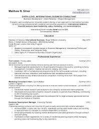 Resume Student Template Gorgeous Resume Template For College Student Noxdefense