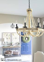 great diy rustic chandelier remodelaholic 25 gorgeous diy chandeliers