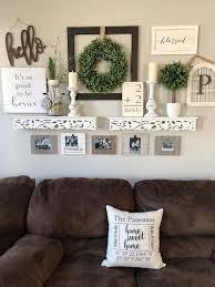 wall decor living room farmhouse decor