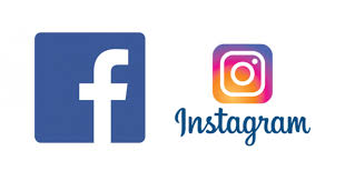 Image result for facebook and instagram logo
