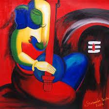 modern art lord shiva shiva paintings