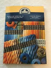 Dmc Embroidery Floss Chart Dmc Mouline Special 25 Embroidery Floss Chart Book With Real