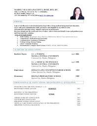Sample Resume For Medical Technologist Medical Technologist Resume ...