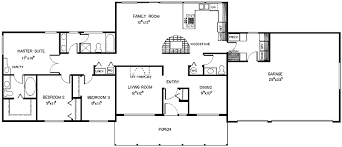 Wonderful House Plans Bedroom Ranch Amusing 3 Bedroom Rancher House Plans